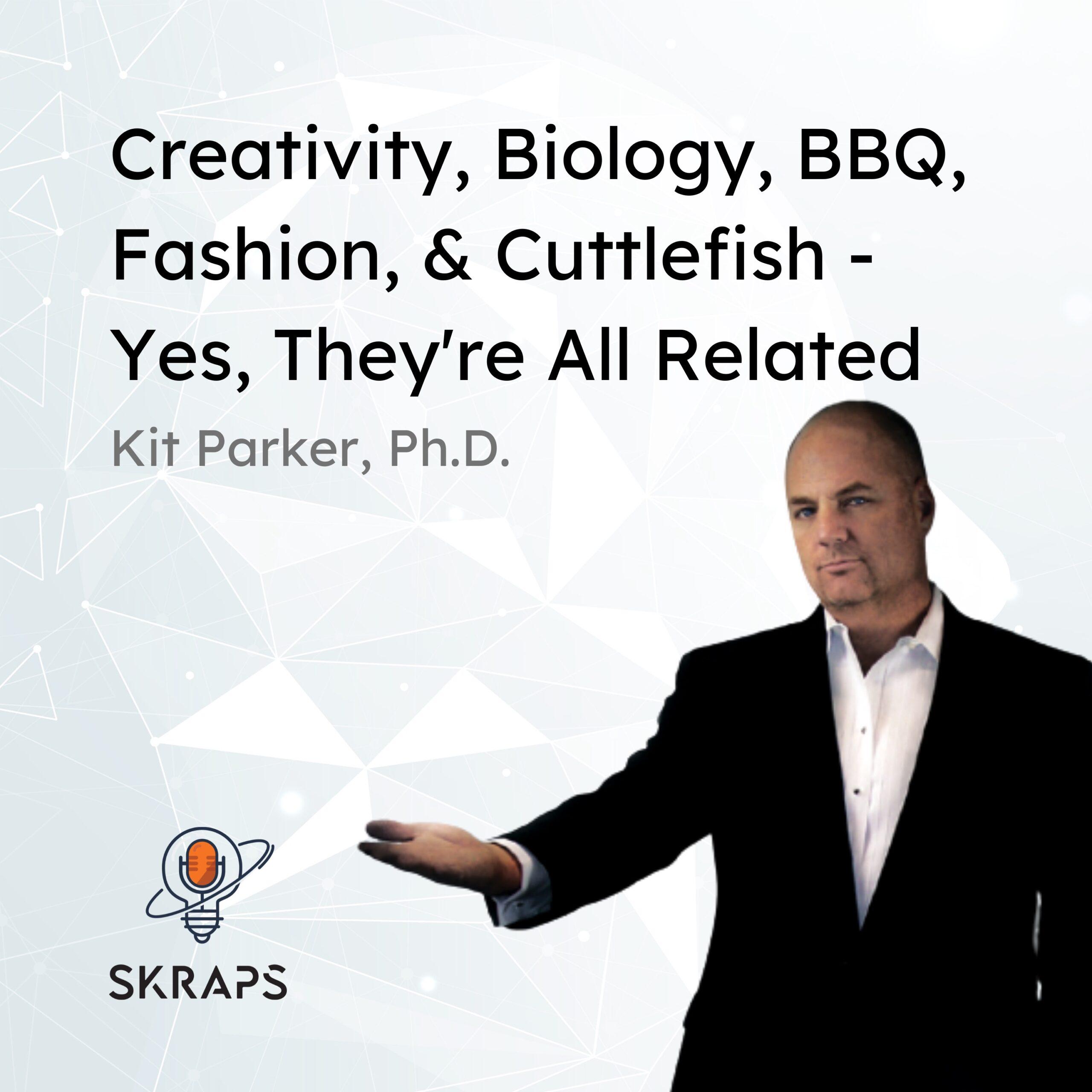 Play-doh & creativity, cardiac biology & biomechanics, Desora Barbecue, Fashion, and cuttlefish